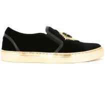 Slip-On-Sneakers mit Patch - women