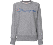 Sweatshirt mit Logo-Stickerei