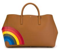 Große 'Rainbow Featherweight Ebury' Handtasche