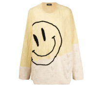 'Smiley' Oversized-Pullover
