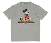 x Disney T-Shirt mit Logo-Print