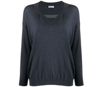 Pullover mit Cut-Outs