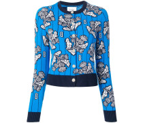 Intarsien-Pullover aus Kaschmir