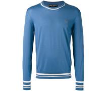 Pullover mit Kronen-Stickerei - men