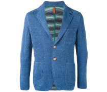 chest pocket blazer - men