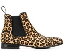 'Lexi' Chelsea-Boots mit Zebra-Print