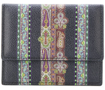 Portemonnaie mit Paisley-Muster