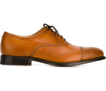 Oxford-Schuhe mit Lochmuster