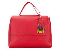 Handtasche mit Quaste - women - Leder