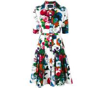 Hemdkleid mit Blumenprint - women
