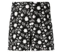 Shorts mit Blumenstickerei - women