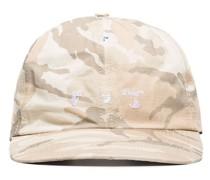 Baseballkappe mit Camouflage-Print