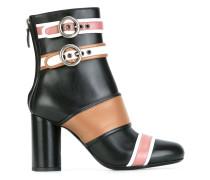 - Stiefel mit Gurteinsätzen - women