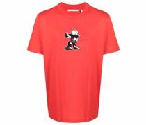 T-Shirt mit Figuren-Print