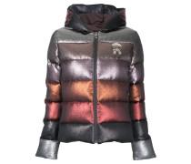 Gefütterte Jacke in ColourBlockOptik