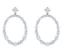 18kt Starry Night Weißgoldohrringe mit Diamanten