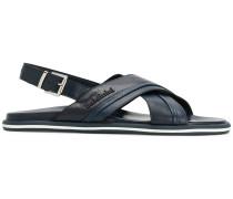classic sling-back sandals