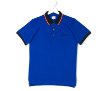 Teen contrast-trim polo shirt
