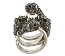 Embellished metal ring