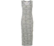 Ärmelloses Kleid mit Print - women