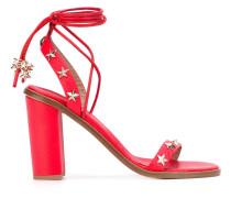 Sandalen mit Stern-Applikationen - women