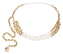 Kettengürtel mit Perlen