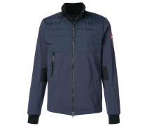 padded zipped jacket