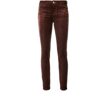 Skinny-Jeans mit mittelhohem Bund