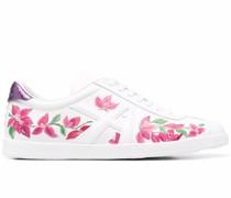 The A Sneakers mit Blumen-Print