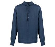 henley linen shirt
