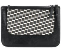geometric pattern clutch
