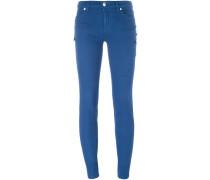 Skinny-Jeans mit Sicherheitsnadeln