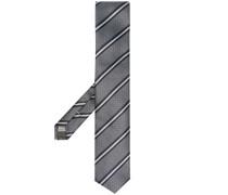 Gestreifte Jacquard-Krawatte