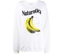 'Naturotica' Sweatshirt mit Print