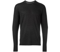Fein gemusterter Pullover