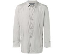 Einreihiger Mantel - men - Polyester/Viskose
