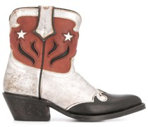 Western-Boots im Used-Look