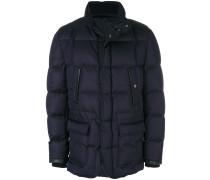 button-up puffer jacket