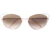 cat eye framed sunglasses