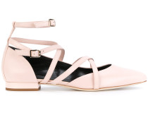 strappy ballerina shoes