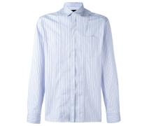 striped chest pocket shirt