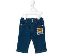 Jeans mit Teddybär-Logo