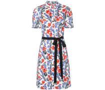 floral short sleeve shirtdress - women