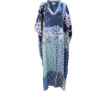 panelled kaftan dress