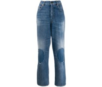 Jeans mit Knie-Patches