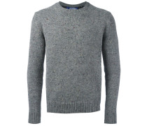 Melierter Pullover - men - Polyester/Wolle - L