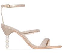 'Rosalind' Sandalen mit Design-Absatz