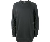 Sweatshirt mit aufgesticktem Vogel - men
