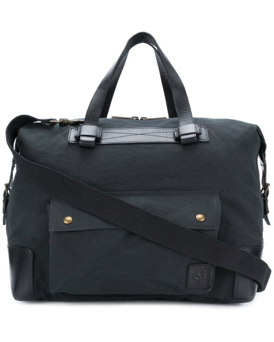 Belstaff Herren Canvas-Reisetasche mit Vorderfach