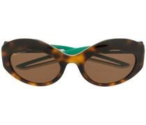 Ovale 'Hybrid' Sonnenbrille